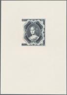 Bohemia & Moravia / Böhmen & Mähren: Intaglio Printed Vignette With Portrait Of A Woman For The 50 K - Czechoslovakia