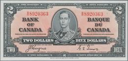 Canada: 2 Dollars 1937 P. 59c, In Crisp Original Condition: UNC. - Canada