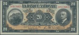Canada: La Banque Nationale 20 Dollars 1922 SPECIMEN, P.S873s In Very Nice Condition, Just A Bit Dec - Canada