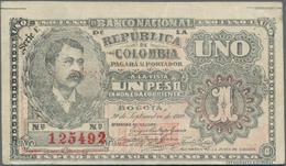 Colombia / Kolumbien: Banco Nacional De La República De Colombia 1 Peso September 30th 1900, P.270, - Colombia