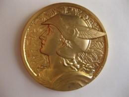 Médaille En Bronze Dorée BRIDGE MILAN 1965 . Attribué à Maison 1er EX-AEQUO , Par FRAISSE - Other