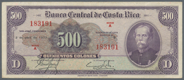 Costa Rica: Banco Central De Costa Rica 500 Colones April 2nd 1973, P.225b, Excellent Condition With - Costa Rica