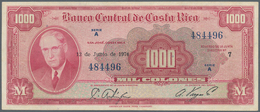 Costa Rica: 1000 Colones 1974 P. 226c, Light Folds And Handling In Paper, No Holes Or Tears, Crispne - Costa Rica