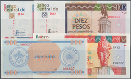 Cuba: Huge Lot With 38 Banknotes Of The Foreign Exchange Certificates Series 1 - 500 Pesos ND(1985)- - Cuba