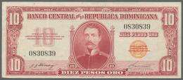 Dominican Republic / Dominikanische Republik: Banco Central De La República Dominicana 10 Pesos ND(1 - Dominicana