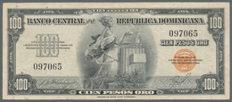 Dominican Republic / Dominikanische Republik: Banco Central De La República Dominicana 100 Pesos ND( - Dominicana