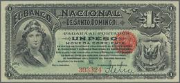 Dominican Republic / Dominikanische Republik: 1 Peso ND El Banco Nacional De Santo Domingo P. S131a, - Dominicana