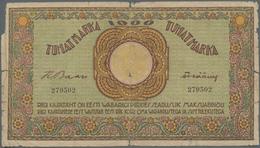 Estonia / Estland: 1000 Marka ND(1920-21) Without Serial # Prefix, P.50aextraordinary Rare Banknote - Estonia
