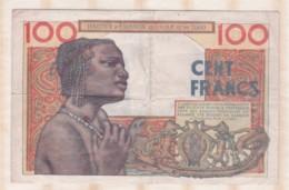 Institut D'émission De L'A.O.F Et Du TOGO . 100 Francs 23 – 10 – 1956 - Togo