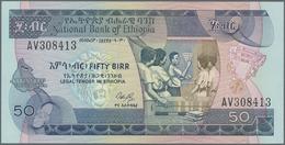 Ethiopia / Äthiopien: 50 Birr 1991, P.44a In Perfect UNC Condition. - Ethiopia