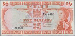 Fiji: Central Monetary Authority Of Fiji 5 Dollars ND(1974) With Signatures: Barnes & Tomkins, P.73c - Fiji