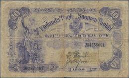 Finland / Finnland: 10 Markkaa 1898, P.3, Small Border Tears And Tiny Hole At Center. Condition: F- - Finland