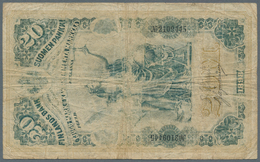 Finland / Finnland: Highly Rare Set With 3 Banknotes Comprising 2 X 20 Markkaa 1898 P.5a In Almost W - Finland