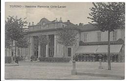 Torino - Stazione Ferroviaria Ciriè-Lanzo. Caffè Birreria Della Stazione. - Transports