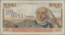 French Equatorial Africa / Französisch-Äquatorialafrika: Caisse Centrale De La France D'Outre-Mer 50 - Equatorial Guinea