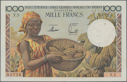 French Equatorial Africa / Französisch-Äquatorialafrika: Institut D'Émission De L'Afrique Équatorial - Equatorial Guinea