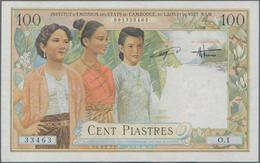 French Indochina / Französisch Indochina: Institut D'Émission Des États Du Cambodge, Du Laos Et Du V - Indochina