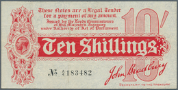 Great Britain / Großbritannien: 10 Shillings ND(1914) P. 346, 4 Vertical And One Very Light Horizont - Gran Bretagna