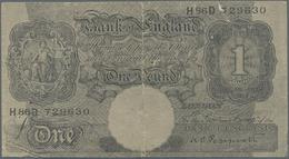 Great Britain / Großbritannien: Axis Propaganda Note 1 Pound With Arabian Text On Back, ND(1942), P. - Gran Bretagna