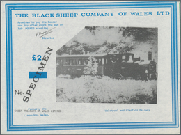 Great Britain / Großbritannien: Wales - The Black Sheep Company Ltd., Set With 4 Advertising Notes 1 - Gran Bretagna