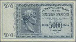 Greece / Griechenland: 5000 Drachmai ND(1941) P. M18a In Condition: UNC. - Griekenland