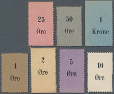 Greenland / Grönland: Royal Trade Organisation Set With 1, 2, 5, 10, 25, 50 Oere And 1 Krone ND(1910 - Greenland