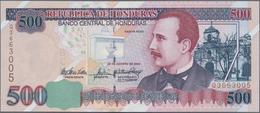 Honduras: 500 Lempiras 2004, P.78f In UNC Condition. - Honduras