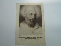 Bienheureux ABBA GHEBRE MICHAËL Prêtre ABYSSIN - Ethiopie