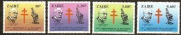 Zaire 1983 OBCn° 1190-1193 *** MNH  Cote 6,00 Euro Tuberculose Robert Koch - 1980-89: Nuevos