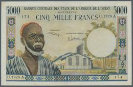 Ivory Coast / Elfenbeinküste: Banque Centrale Des États De L'Afrique De L'Ouest, 5000 Francs ND(1970 - Côte D'Ivoire