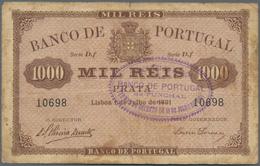"Madeira: 1000 Reis 01.07.1891 / Overprint 18.07.1891 With Overprint ""Banco De Portugal No Funchal"" O - Banknotes"