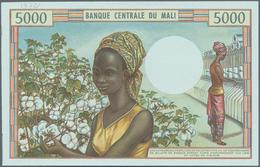 Mali: Banque De La République Du Mali 5000 Francs ND(1972-84) Reverse Proof, P.14p, Small Pencil Ann - Mali