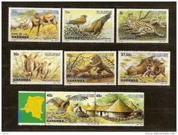 Zaire 1984 OCBnr. 1216-23 *** MNH OCB Cote 27,50 Euro Faune - 1980-89: Mint/hinged