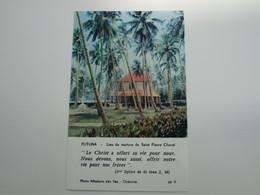 FUTUNA - Lieu Du Martyre De Saint Pierre Chanel - Wallis Et Futuna