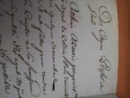 Lettre Manuscrite Du 14 Thermidor An X [2/08/1802] - Autographs