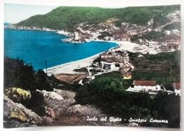 TOSCANA – GROSSETO – ISOLA DEL GIGLIO – SPIAGGIA CAMPESE  Formato Grande – Viaggiata 1961  Condizioni Buone - Grosseto
