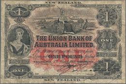 New Zealand / Neuseeland: Union Bank Of Australia Ltd. - Wellington Branch 1 Pound 1905, P.S362b, Gr - New Zealand