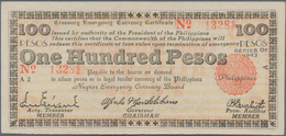 Philippines / Philippinen: Negros Emergency Currency Board 100 Pesos 1943, P.S666, Countersigned On - Philippines