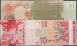 Philippines / Philippinen: Very Nice Set With 4 Notes Including Philippines 20 Piso With Misprint (p - Philippines