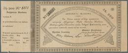 Poland / Polen: 200 Zlotych 1831 Assygnacya Skarbowa, P.A18B In Perfect Condition, Just A Tiny Tear - Poland