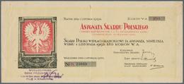 Poland / Polen: Asygnata Skarbu Polskiego 100 Koron 1918, P.NL In Excellent Condition With Just A Ve - Poland