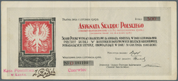 Poland / Polen: Asygnata Skarbu Polskiego 500 Rubli 1918, P.NL In Very Nice Condition With Some Vert - Poland
