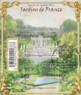 Bloc Jardins De France F 4663  Oblitération 1er Jour Paris Du 9 09 2012 - Gebraucht