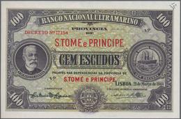 Saint Thomas & Prince / Sao Tome E Principe: Banco Nacional Ultramarino - Provincia De S. Tomé E Pri - Sao Tome And Principe