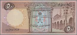 Saudi Arabia  / Saudi Arabien: 50 Riyals AH1379 ND(1961-68), P.14a In Perfect UNC Condition. Rare! - Saudi Arabia