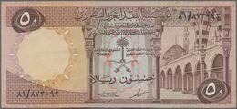 Saudi Arabia  / Saudi Arabien: 50 Riyals AH1379 (1968), P.14b, Still Nice With Strong Paper And Brig - Saudi Arabia