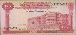 Saudi Arabia  / Saudi Arabien: 100 Riyals AH1379 (1968), P.15 In Perfect UNC Condition. Highly Rare - Saudi Arabia