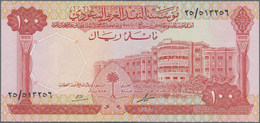 Saudi Arabia  / Saudi Arabien: 100 Riyals L. AH1379 ND(1968), P.15a, Almost Perfect Condition With A - Saudi Arabia