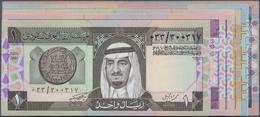 Saudi Arabia  / Saudi Arabien: Set With 13 Banknotes Of The L. AH1379 ND(1983-1984) Issue With 3x 1, - Saudi Arabia