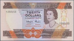 Solomon Islands: Central Bank Of Solomon Island 20 Dollars ND(1984), P.12 In Perfect UNC Condition. - Solomon Islands